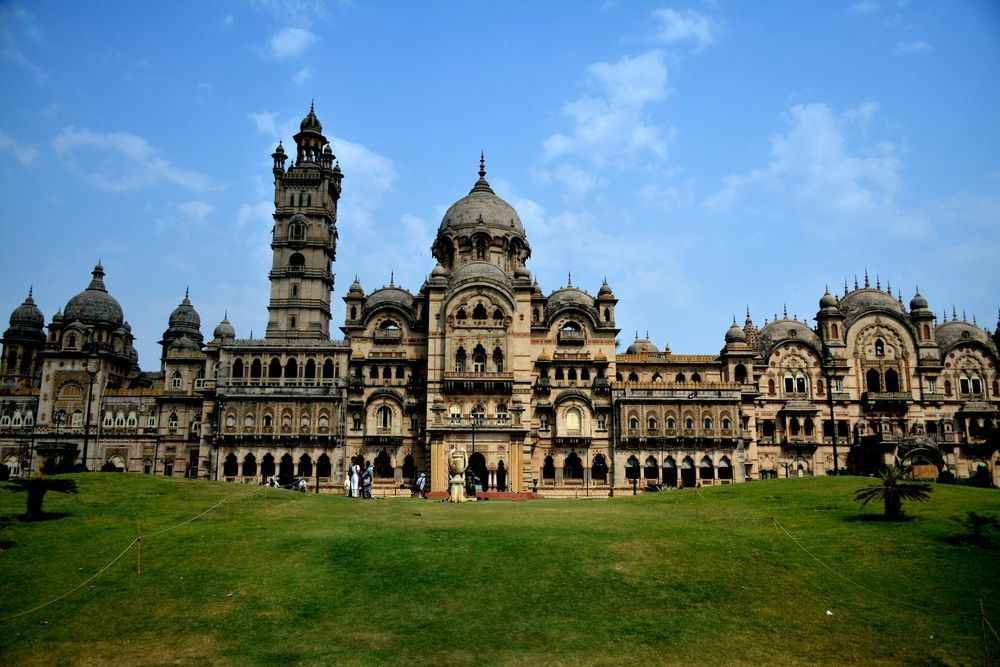 THE MAGNIFICENT LAXMI VILAS PALACE