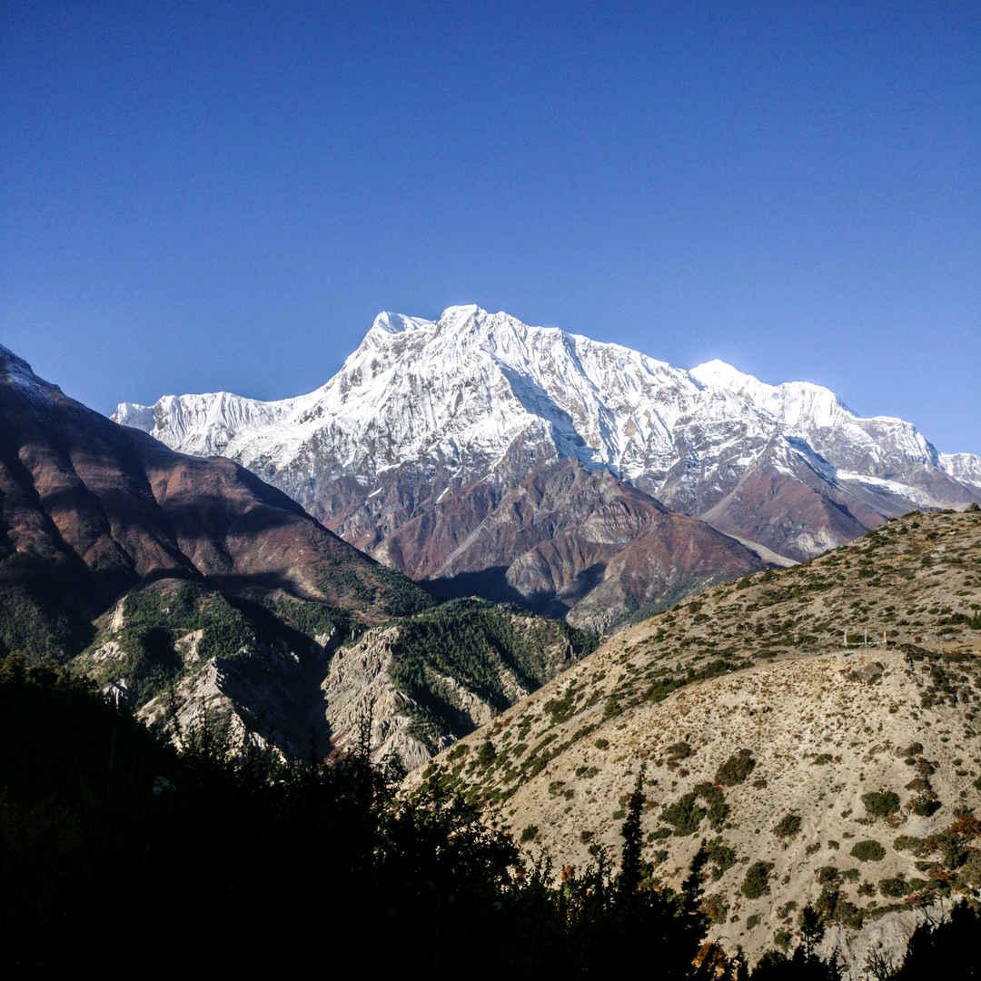Trekking in Nepal - Annapurna circuit trek (Day 04)