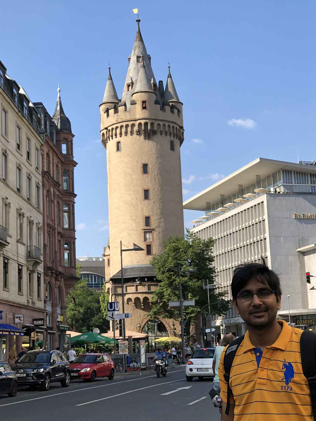 A day in Frankfurt, Germany