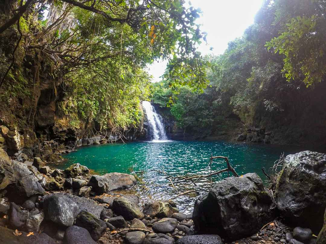 I Reached One of the Most Gorgeous Waterfalls in Mauritius That No One Knows About in Just 60 INR