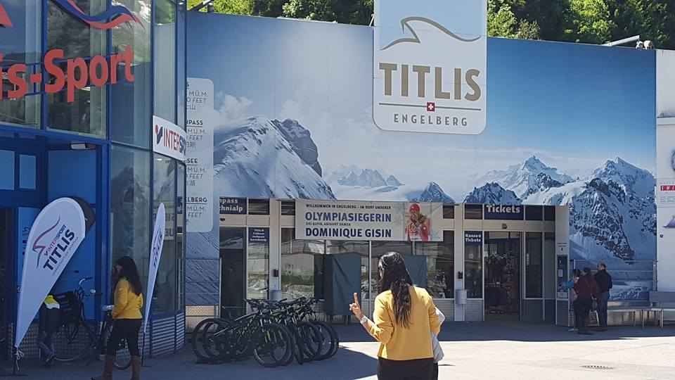Wandering off from Lucerne to Engelberg and Mt.Titlis, Switzerland