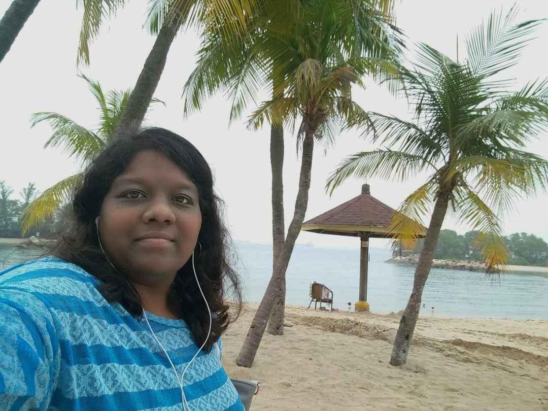 #SelfieWithAView #TripotoCommunity Perfect vacation #Singapore #Sentosa