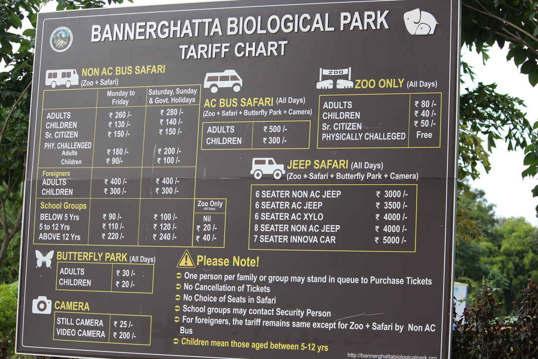 Bannerghatta Biological Park, Bengaluru