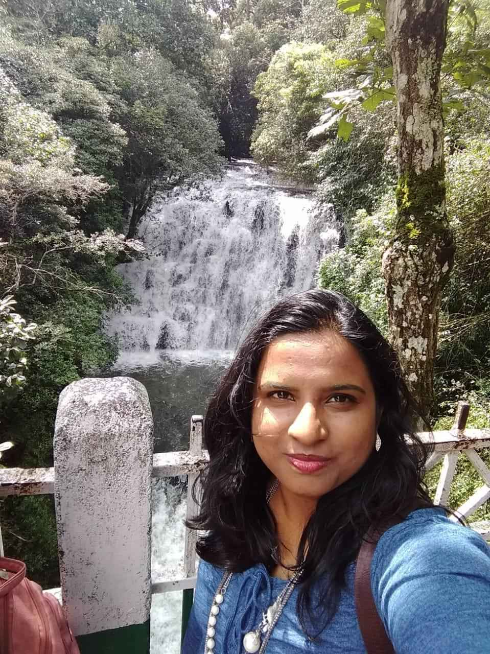 Curtain of waterfalls #Selfiewithaview #Tripotocommunity
