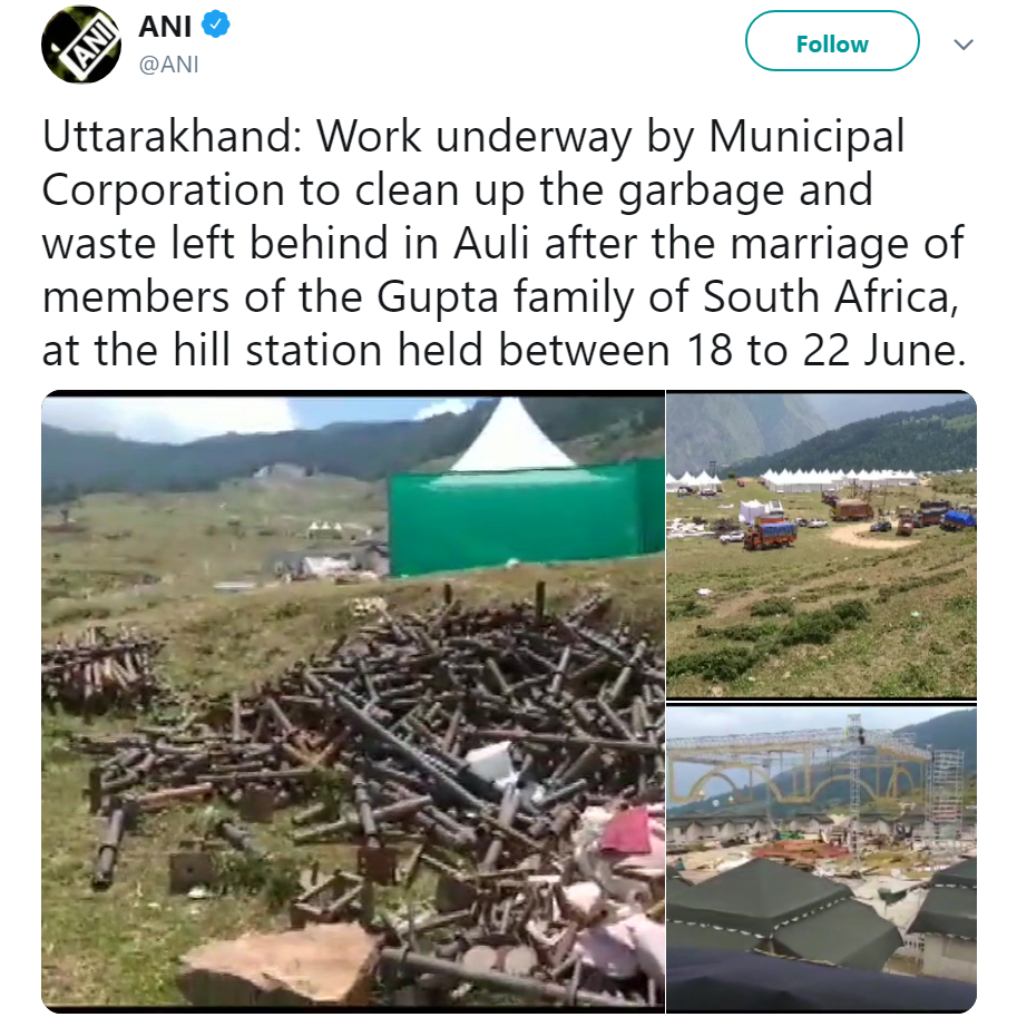 2 Weddings, Rs 200 Crore and 4,000 kg of Garbage. Here's How a Celebration Trashed Auli