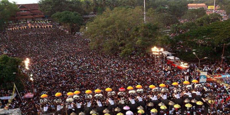 Mother of all Poorams-Thrissur Pooram #TripotoTakeMeToHimalayas