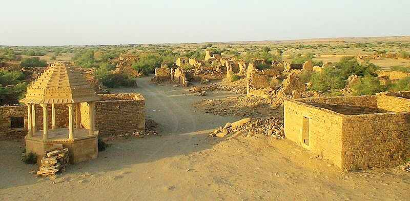 Visit to Kuldhara – The haunted Village of Jaisalmer