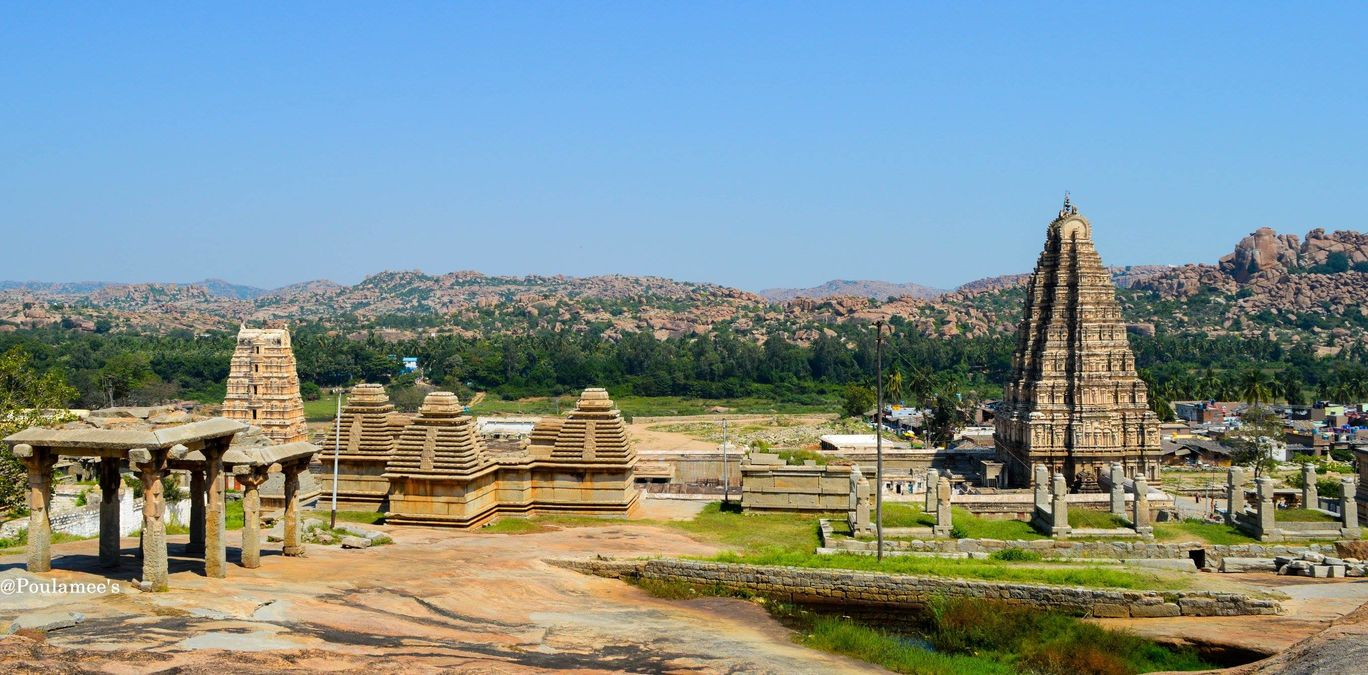 Hampi…The rock city..An UNESCO world heritage site in India !