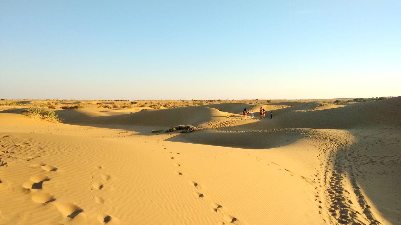 Jaisalmer, The Golden Town In The Thar Desert, Rajasthan ...