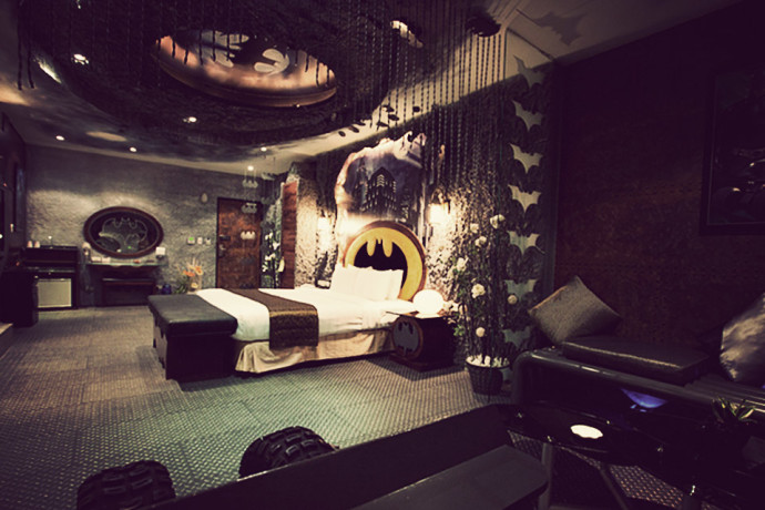 The Batcave Has Shifted To This Hotel Room In Taiwan By