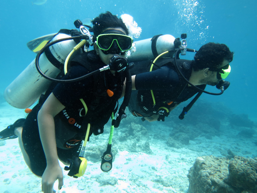 Scuba diving in thailand how i fought the underwater fear by shilpa balakrishnan tripoto - Where to dive in thailand ...