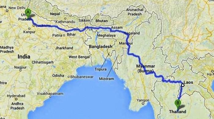 India Myanmar Thailand Trilateral Highway Tripoto
