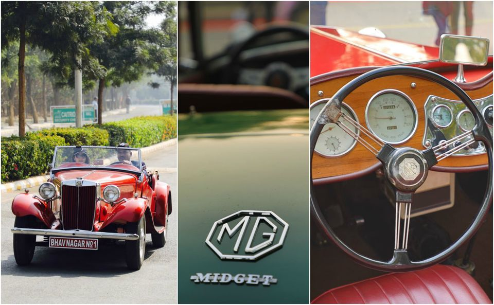 Proud MG Motor Vintage Car Owners Have A Blast In DelhiNCR