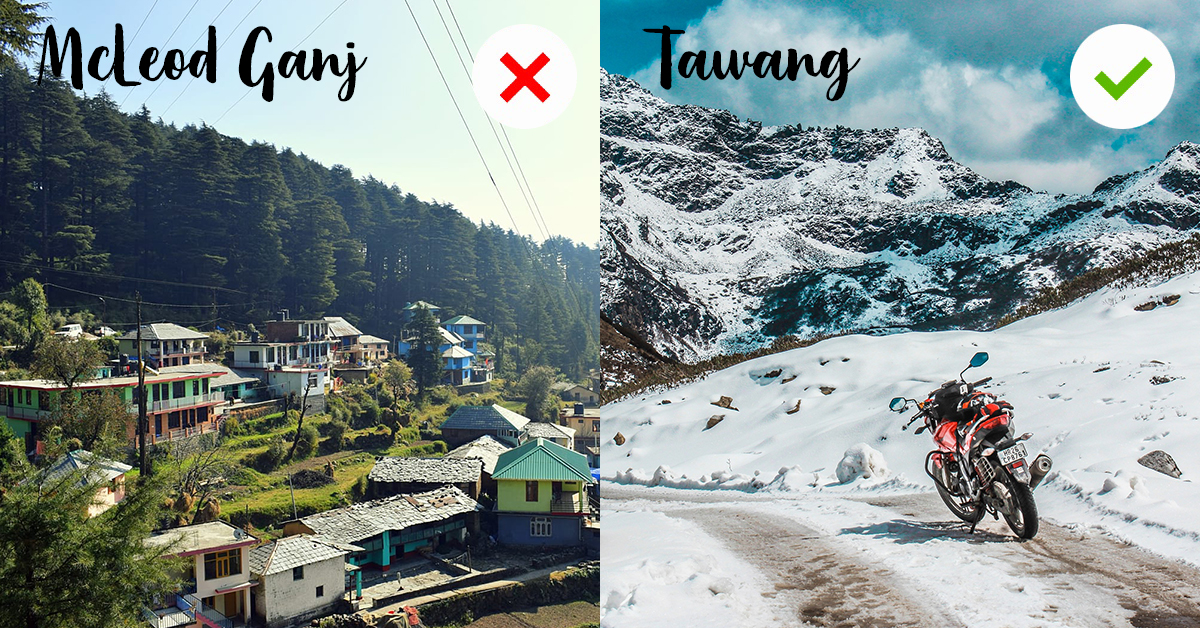 10 Overdone Destinations Of 2018 In India With Their Best Alternatives For 2019