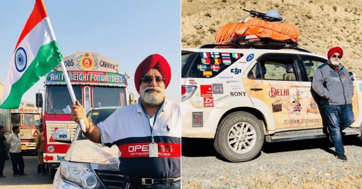 Delhi To London: 36,800km In 131 Days, This 60-Year-Old Man Proves Age Is Just a Number